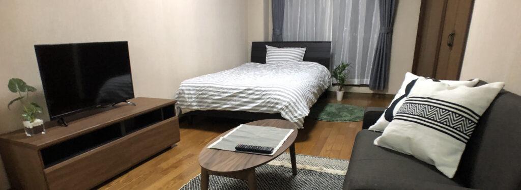 富士市本市場周辺でご利用可能なマンスリーマンション・ウィークリーマンションをご紹介致します。物件画像① トップ画像