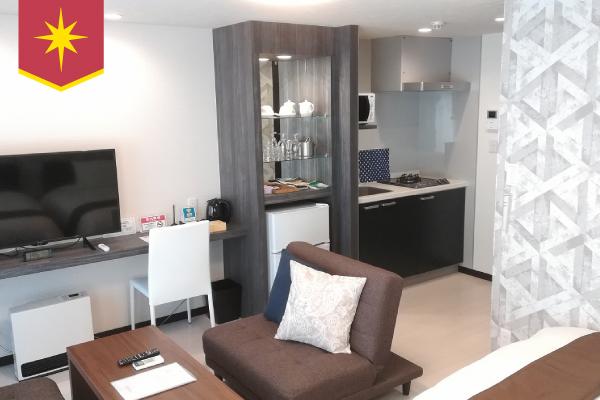 静岡県富士市、静岡東部周辺で利用可能なマンスリー・ウィークリーマンションはカバン一つで入居することができる程の充実設備が予め備わっていますので、 出張や研修、急な仮住まい、個人旅行にも即日対応することができます☆